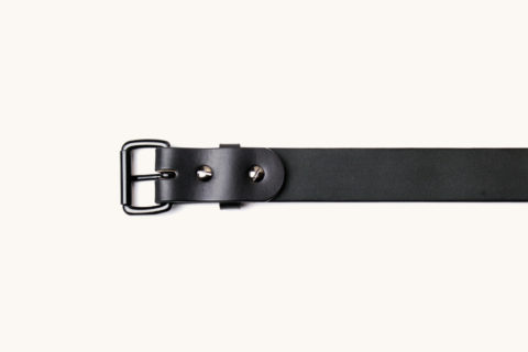 belt black black down